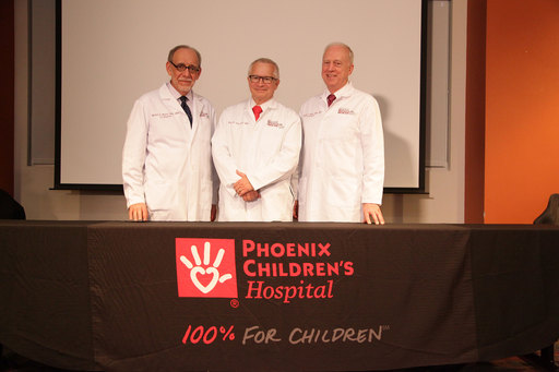 After 40 years of individual successes, Robert Arceci, MD, PhD, Daniel D. Von Hoff, MD, FACP, Timothy Triche, MD, PhD have come together to form a Pediatric Dream Team that will lead Phoenix Children's visionary molecular medicine program