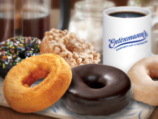 YUM! A variety of Entenmann's Donuts