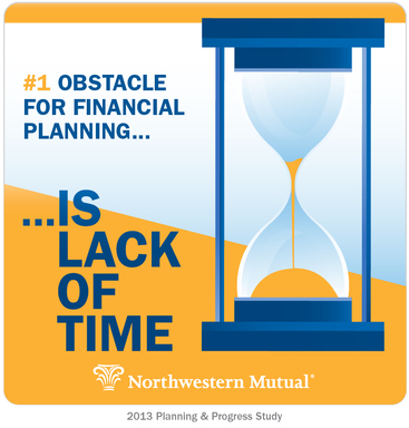 Lack of time No. 1 obstacle for financial planning