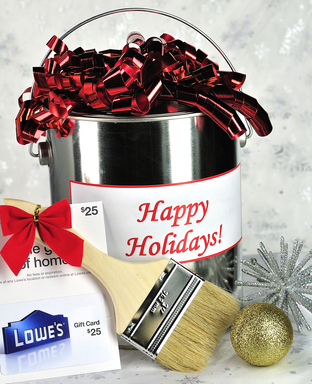 Complement your home improvement store gift card with something they'll use to get the job done.