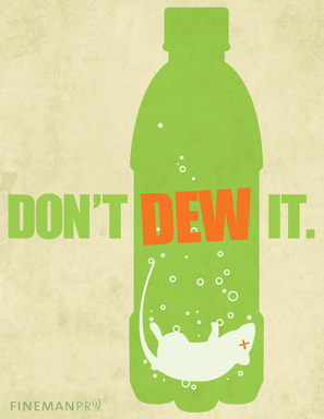 """Mice No Match for Mountain Dew"": The legal defense of Mountain Dew maker PepsiCo misstepped in a lawsuit over an alleged dead mouse in a can, resulting in a rather unappetizing suggestion."