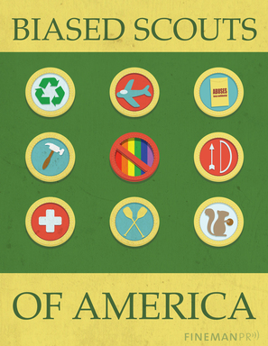 Unhelpful, Unfriendly, Discourteous and Unkind: The Boy Scouts of America battled the inclusion of openly gay scouts, appearing  hypocritical in light of the release of internal sex abuse files.