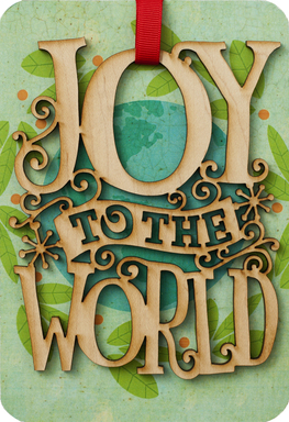 Hallmark Signature Collection Holiday Card - Joy To The World