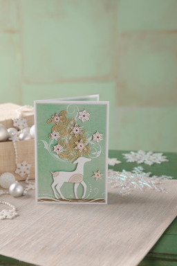 Hallmark Signature Collection Holiday Card - Reindeer