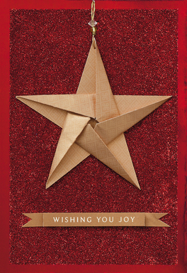 Hallmark Signature Collection Holiday Card - Star
