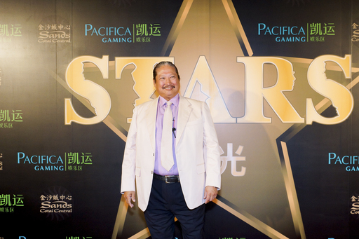 Sammo Hung was among a glittering array of celebrities walking the red carpet Saturday night at Sands Cotai Central, part of the A Night of Stars celebrity event.