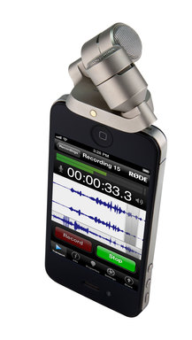 The RØDE iXY and RØDE Rec app for Apple iPhone