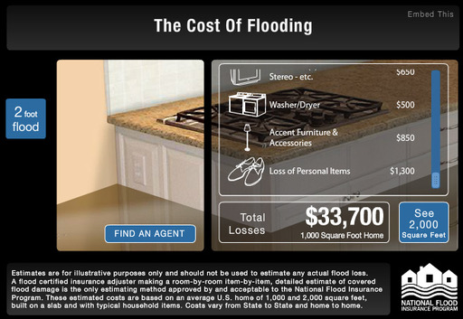 Cost of Flooding Tool