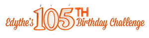 Edythe 105th Birthday Challenge logo