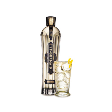 One of the fastest-growing spirits brands in the U.S., St. Germain is an all-natural, artisanal French liqueur tasting of tropical fruits, pear, citrus and a hint of honeysuckle.