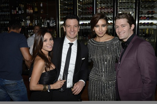 Kathryn Smith, JC Chasez, Renee Puente and Matthew Morrison party at Marquee, The Star Sydney for New Year's Eve