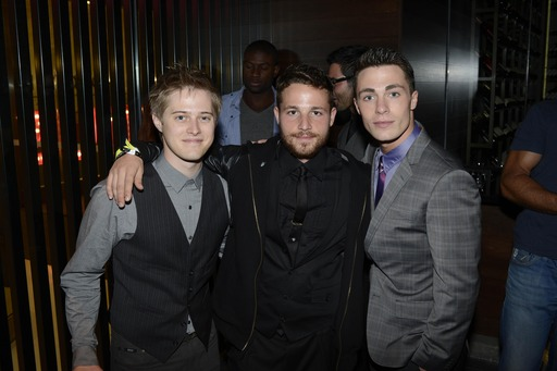 Lucas Grabeel, Shawn Pyfrom and Colton Haynes spend New Year's Eve at Marquee, The Star, Sydney