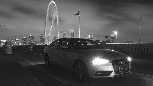 Silvercar's fleet of only 2013 Audi A4s are available for rental from DFW Airport beginning January 14, 2013.