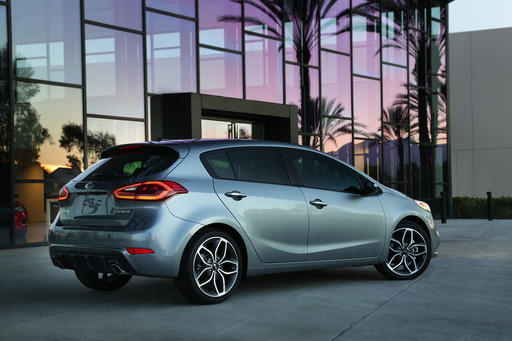 Kia today unveiled the all-new 2014 Forte 5-door at the Chicago Auto Show