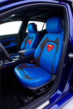 "Kia today unveils Superman-themed Optima Hybrid, sixth of eight customized vehicles representing characters from the Justice League to benefit DC Entertainment's ""We Can Be Heroes"" giving campaign"