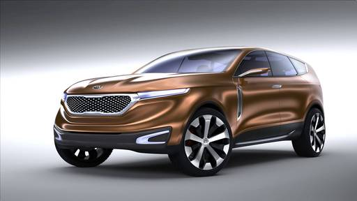 Cross GT Concept Takes Kia Design in a Bold New Direction that Hints at the Future of the Brand's Premium Aesthetic in a Larger Package