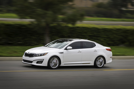 Kia Today Unveiled the Refreshed 2014 Optima Mid-Size Sedan at the New York International Auto Show