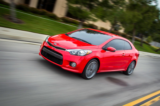 Kia Today Unveiled All-New Turbocharged Forte Koup at the New York International Auto Show