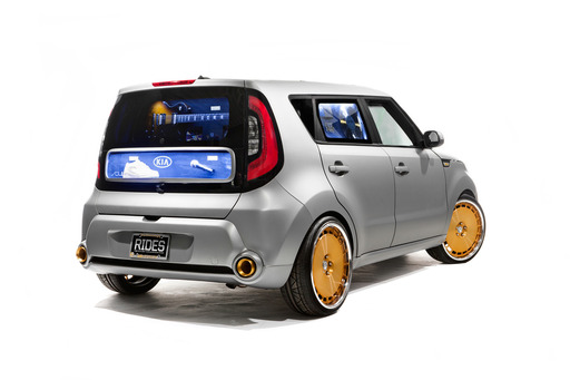 This one-of-a-kind Kia Soul encompasses the passion, raw talent and diversity of music as an industry and an artform.
