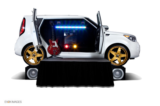 The Amped Kia Soul brings the power of larger-than-life JBL speakers.
