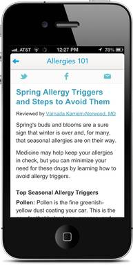 WebMD Allergies 101