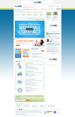 WebMD Healthcare Reform Homepage