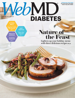 WebMD Magazine Diabetes Issue