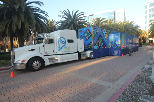 Atmel Tech on Tour Trailer