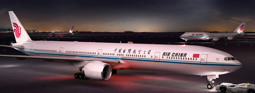AIR CHINA'S BEIJING-NEW YORK SERVICE GETS MAJOR BOOST WITH UPGRADE TO BOEING 777-300ER AND EXPANDED FREQUENCY. The Big Apple joins other Air China North America gateways with fleet upgrade and expand.