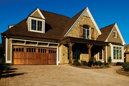 Signature™ Carriage Wood Garage Door