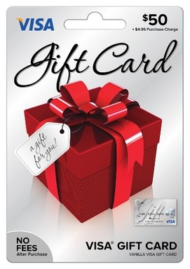 Vanilla Gift Card designs vary so visit your favorite Vanilla retailer for available selections.