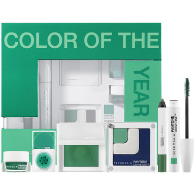 SEPHORA + PANTONE UNIVERSE Color of the Year Emerald Collection