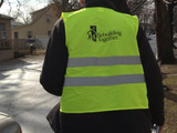 Rebuilding Together staff going door to door after the storm in Sandy-affected neighborhoods.