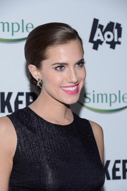 Allison Williams attends the premiere of MAKERS: Women Who Make America, a documentary proudly presented by Simple®, in her first public appearance as the new face of the Simple® brand, a range of skincare products that is perfect even for sensitive skin