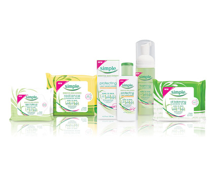 New 2013 Simple® skincare products