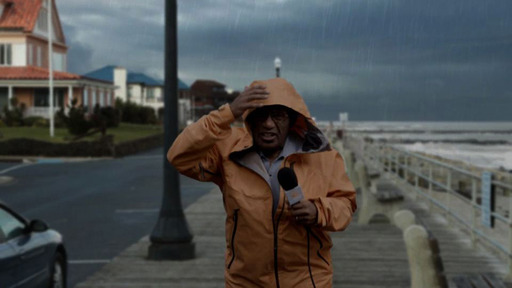 America's most famous weatherman, Al Roker shows viewers how quickly the weather can change while giving a report in a new PSA about preparing in advance for emergencies.