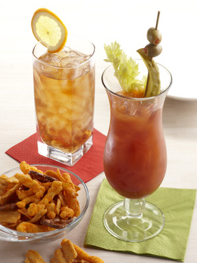 Spicy Bloody Mary & Royal Maple Tea