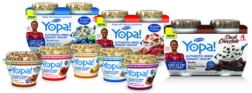 Try all of the delicious new flavors from Yopa! authentic Greek yogurt!