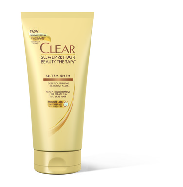 NEW! CLEAR SCALP & HAIR BEAUTY THERAPY™ ULTRA SHEA Deep Nourishing Treatment Mask.