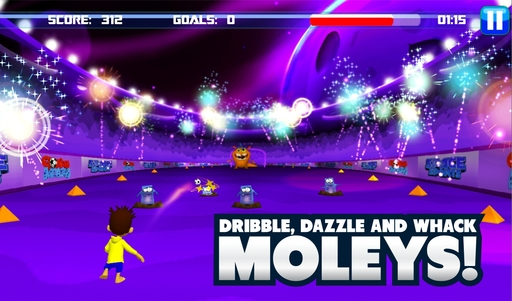 Dribble, Dazzle and Whack Moleys