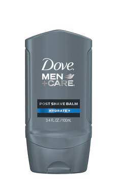 NEW DOVE®MEN+CARE® Post Shave Balm instantly helps relieve irritation caused by shaving and soothes skin. Available in Hydrate+ and  Sensitve+