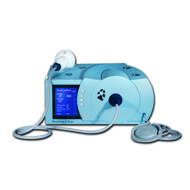 Shock Wave  therapy used for dogs with various injuries resulting in pain and lameness