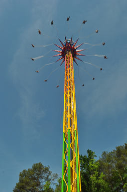 SkyScreamer, a 24-story extreme swing ride is now open at Six Flags Over Georgia.