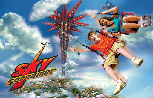 All new in 2013: the SkyScreamer!