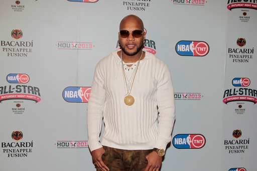 Flo Rida featured at the NBA on TNT All-Star Saturday Night Party, Presented by Bacardi Pineapple Fusion.