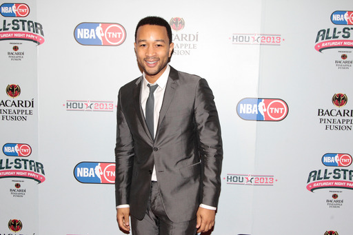 John Legend featured at the NBA on TNT All-Star Saturday Night Party, Presented by Bacardi Pineapple Fusion.