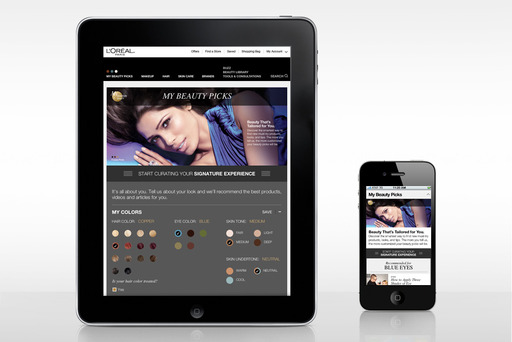 L'Oréal Paris Launches Highly-Personalized Website