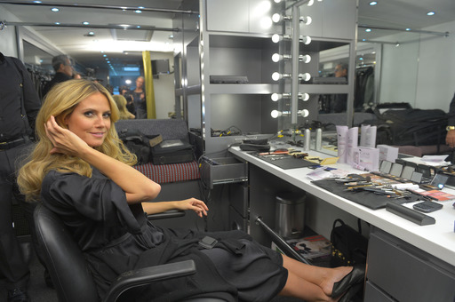 Supermodel Heidi Klum gets glammed up as part of her CLEAR 7 Day Scalp & Hair Challenge for stronger, more beautiful hair. Take the challenge at Facebook.com/Clearhaircare