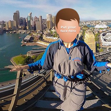 Experience Sydney's BridgeClimb in 360° first person.
