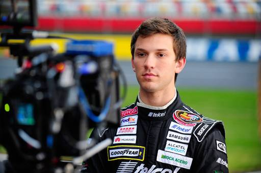 NASCAR Drive for Diversity Driver Daniel Suarez on set for NASCAR Brand Campaign on January 14, 2013 in Charlotte, North Carolina (Photo by Jamey PriceGetty Images for NASCAR)